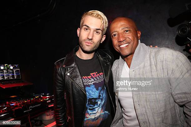 ATrak and Kevin Liles attend the 300 Second Year Anniversary at Diamond Horseshoe on September 20 2016 in New York City