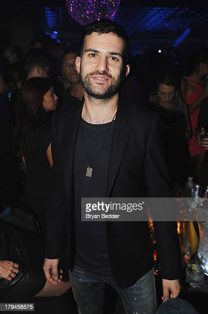 Trak attends Kaskade's 'Atmosphere' album release party at LAVO New York in the early hours of September 4 2013 in New York City