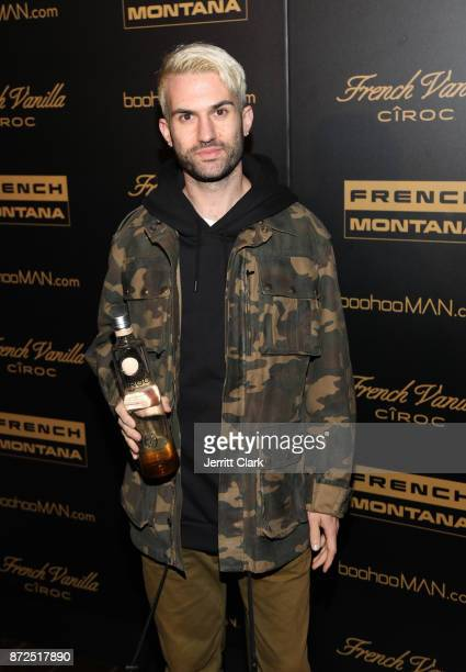 Trak attends the CIROC French Vanilla Birthday Celebration for French Montana on November 9 2017 in Beverly Hills California
