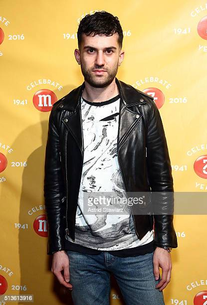 Trak attends the MM's 75th Birthday Launch Event at the Altman Building on March 3 2016 in New York City
