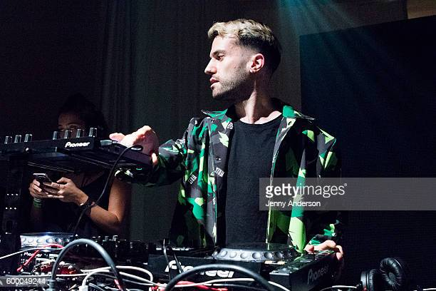Trak attends VFILES fashion show during 2016 New York Fashion Week at Spring Studios on September 7 2016 in New York City