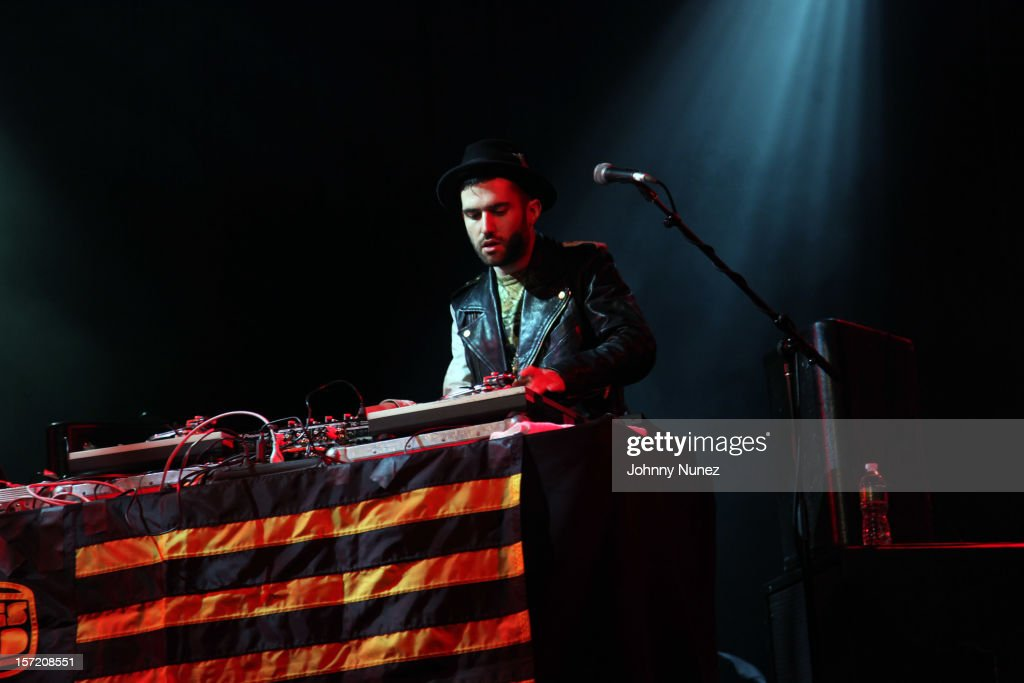 A-Trak performs at Best Buy Theatre on November 29, 2012 in New York City.