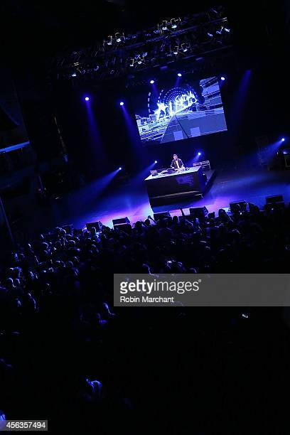 Trak performs at the kickoff concert for AWXI at Terminal 5 on September 29 2014 in New York City