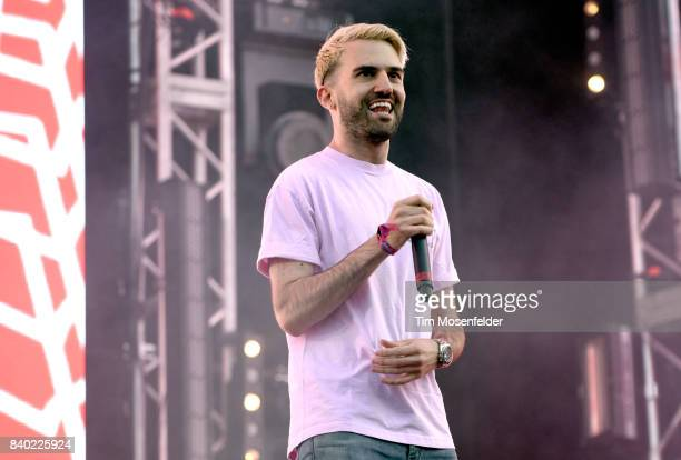 Trak performs during Lollapalooza 2017 at Grant Park on August 3 2017 in Chicago Illinois