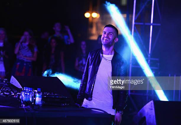 Trak performs onstage during day 3 of the 2014 Life is Beautiful festival on October 26 2014 in Las Vegas Nevada