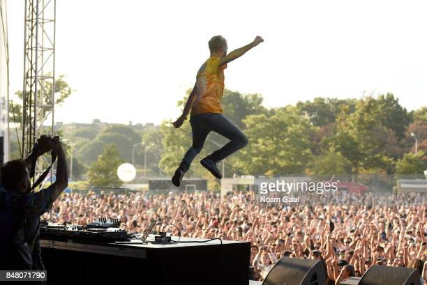 Trak performs onstage during the Meadows Music and Arts Festival Day 2 at Citi Field on September 16 2017 in New York City