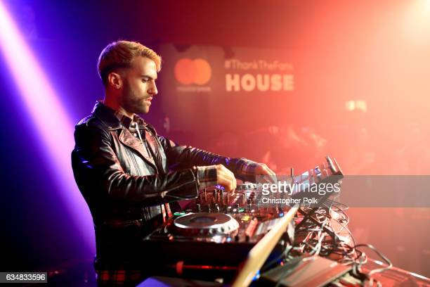 Trak spins at a mustsee lineup presented by The FADER and Mastercard at the Masterpass #ThankTheFans House on February 11 2017 in Los Angeles...