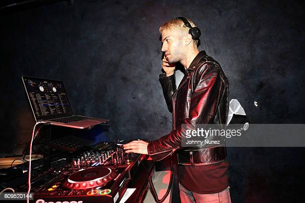 Trak spins at the 300 Second Year Anniversary at Diamond Horseshoe on September 20 2016 in New York City