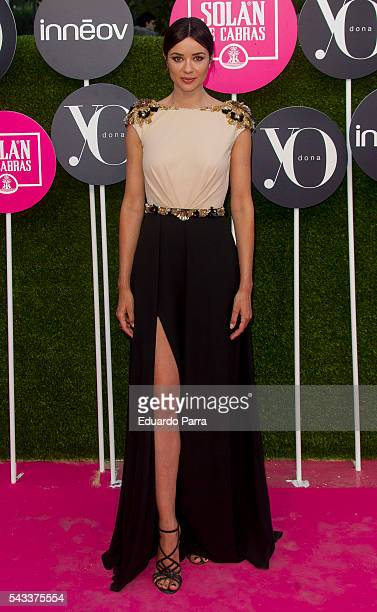 Atress Dafne Fernandez attends the 'Yo Dona' international awards at La Quinta de la Munoza on June 27 2016 in Madrid Spain