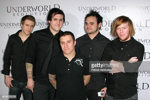 Atreyu attends World Premiere of ÒUnderworld EvolutionÓ at Cinerama Dome on January 11 2006 in Hollywood CA