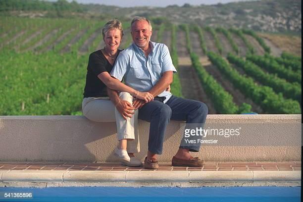 B{atrice BuyckRibourel and her husband Jacques