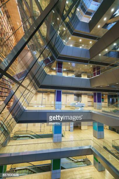 Atrium of the  National Library