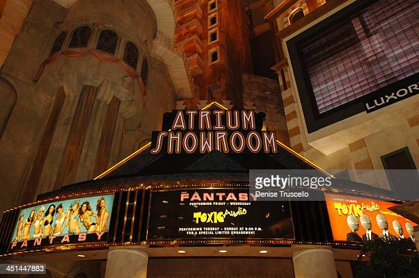 Atrium Showroom during FANTASY Re-Launch - Choreographed By Chris Judd and Eddie Garcia at Luxor Hotel and Casino Resort in Las Vegas, Nevada, United...