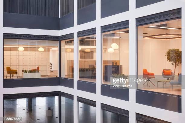 Atrium. UK Office, London, United Kingdom. Architect: IOR, 2019.