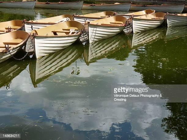 ats on the Lower Lake du Bois de Boulogne