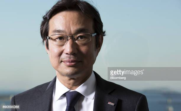 Atsuhiko Hirano chief executive officer of Solar Frontier KK poses for a photograph in Tokyo Japan on Wednesday Dec 6 2017 Solar Frontiera wholly...