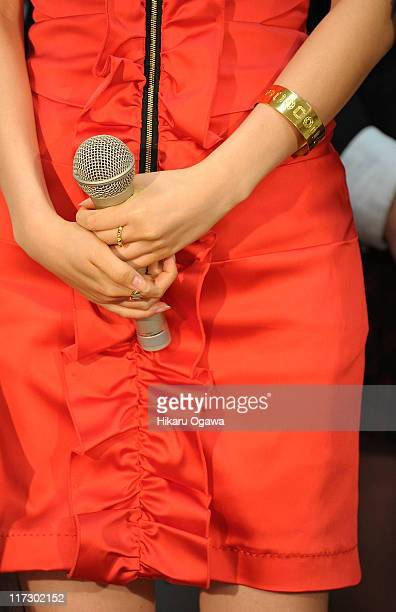 Atsuko Maeda of AKB48 during the MTV Video Music Aid Japan at Makuhari Messe on June 25, 2011 in Chiba, Japan.