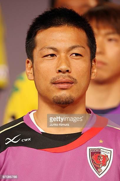Atsushi Yanagisawa attends the 2010 JLeague Kick Off Conference at Grand Prince Hotel Shin Takanawa on February 26 2010 in Tokyo Japan