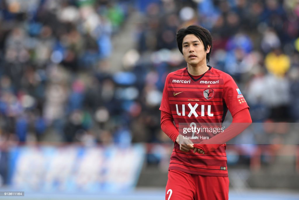 Mito HollyHock v Kashima Antlers - Preseason Friendly : ニュース写真