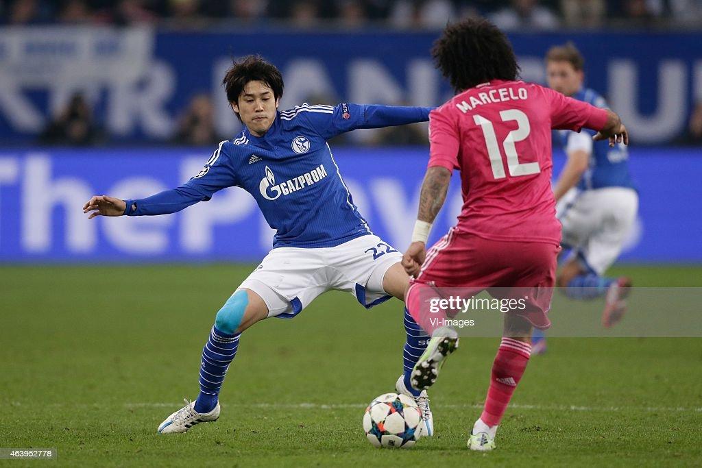 "UEFA Champions League - ""Schalke 04 v Real Madrid"" : News Photo"