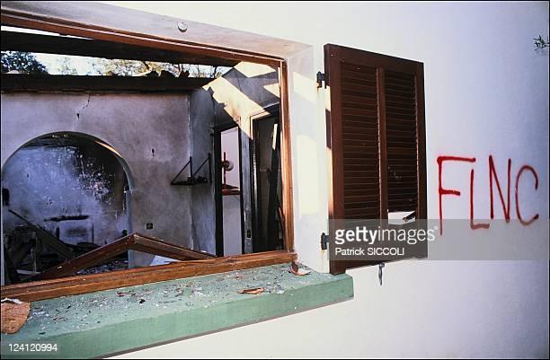 Attack FLNC at Nudist club og Linguizetta In Bastia France On January 14 1990