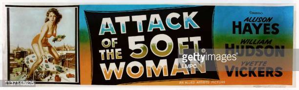 Attack Of The 50 Foot Woman poster Allison Hayes 1958