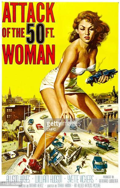 Attack Of The 50 Foot Woman poster poster Allison Hayes 1958