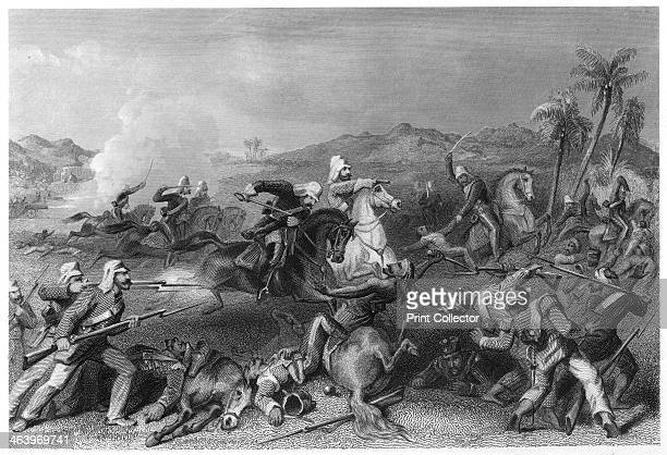 'Attack on the Sealkote mutineers by General Nicholson's Irregular cavalry' Scene from the period of the Indian Mutiny Illustration from The History...