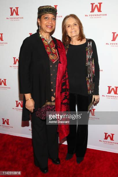 Attallah Shabazz and Founding Mother Ms Foundation Gloria Steinem attend the Ms Foundation For Women's Annual Gloria Awards at Capitale on May 08...