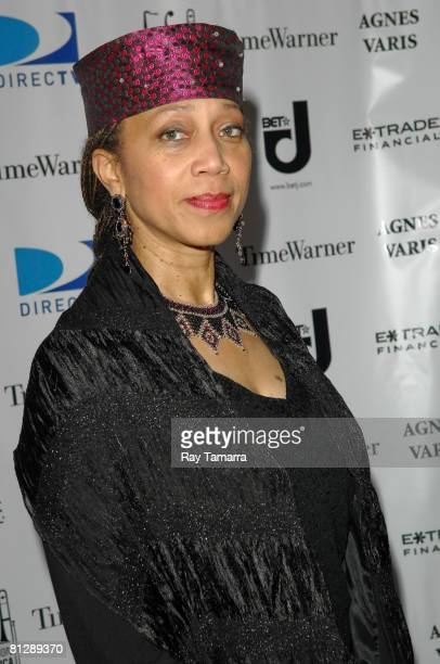 Attallah Shabazz attends the Jazz Foundation Of America's A Great Night In Harlem Concert at the Apollo Theater on May 29 2008 in New York City