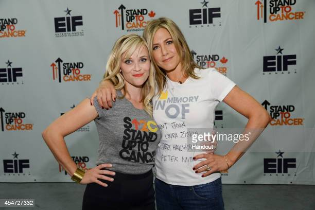 ANISTON attend Stand Up To Cancer a program of the Entertainment Industry Foundation staging its fourth biennial fundraising telecast at the at the...