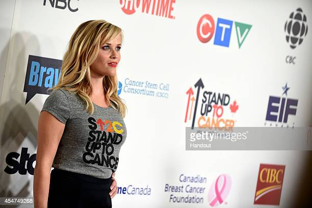 WITHERSPOON attend Stand Up To Cancer a program of the Entertainment Industry Foundation staging its fourth biennial fundraising telecast at the at...
