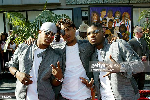 IMX attend the 2nd Annual BET Awards on June 25 2002 at the Kodak Theater in Hollywood California