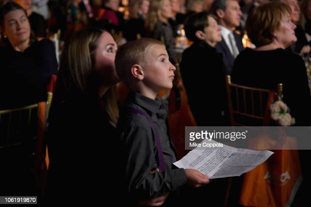 attend the ASPCA Hosts 2018 Humane Awards Luncheon at Cipriani 42nd Street on November 15 2018 in New York City