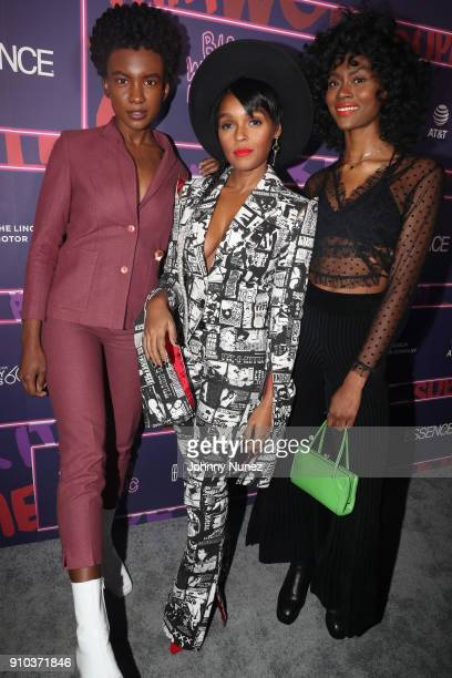 attend the Essence 9th annual Black Women in Music at Highline Ballroom on January 25 2018 in New York City