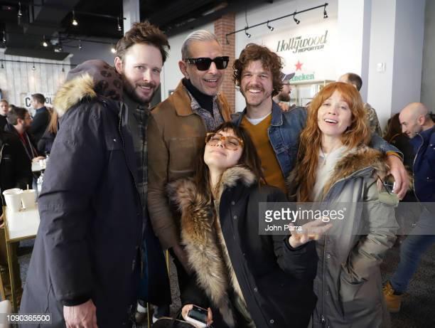 2 attend The Hollywood Reporter 2019 Sundance Studio At Sky Strada Park City on January 27 2019 in Park City Utah