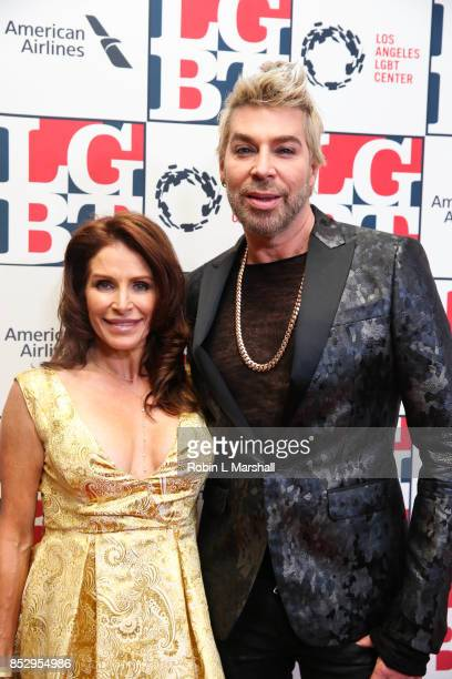 Chaz Dean and wife Joanne Ferra BEVERLY HILLS CA SEPTEMBER 23 attend the Los Angeles LGBT Center's 48th Anniversary Gala Vanguard Awards at The...