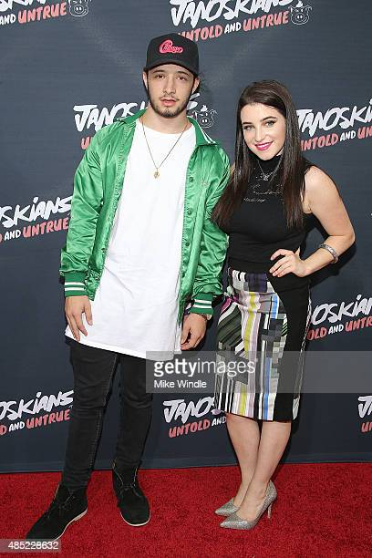 TBTG attend the premiere of Awesomeness TV's Janoskians Untold and Untrue at Regency Bruin Theatre on August 25 2015 in Los Angeles California