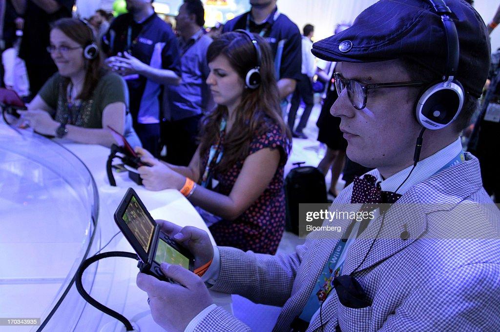 Inside The E3 Electronic Entertainment Expo : News Photo