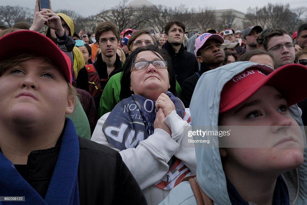 Inauguration Of Donald Trump As 45th President Of The United States : Foto di attualità
