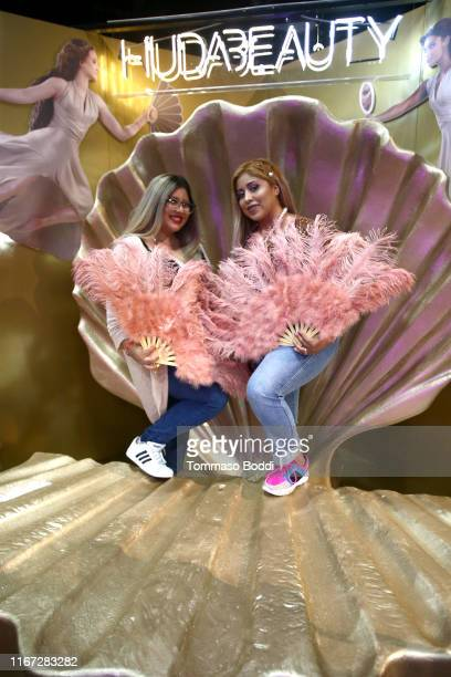 Attendees are seen during Beautycon Festival Los Angeles 2019 at Los Angeles Convention Center on August 10 2019 in Los Angeles California