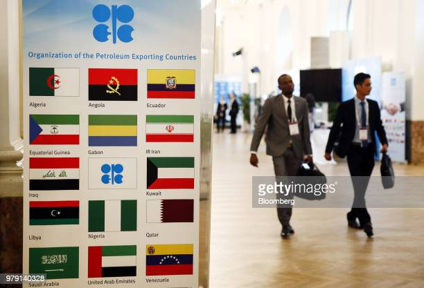 Gabriel Mbaga Obiang Lima Equatorial Guinea's energy minister speaks during the opening day of the 7th Organization Of Petroleum Exporting Countries...