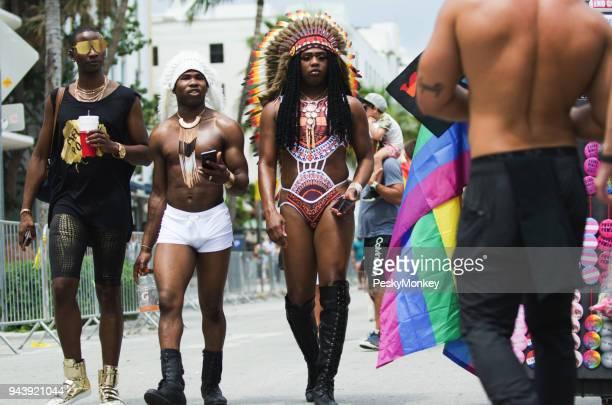 マイアミビーチ ゲイの出席者誇りパレード 2018