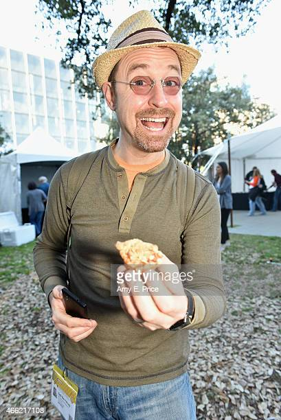 SXSW attendees celebrate Pi day during the 2015 SXSW Music Film Interactive Festival at on March 14 2015 in Austin Texas