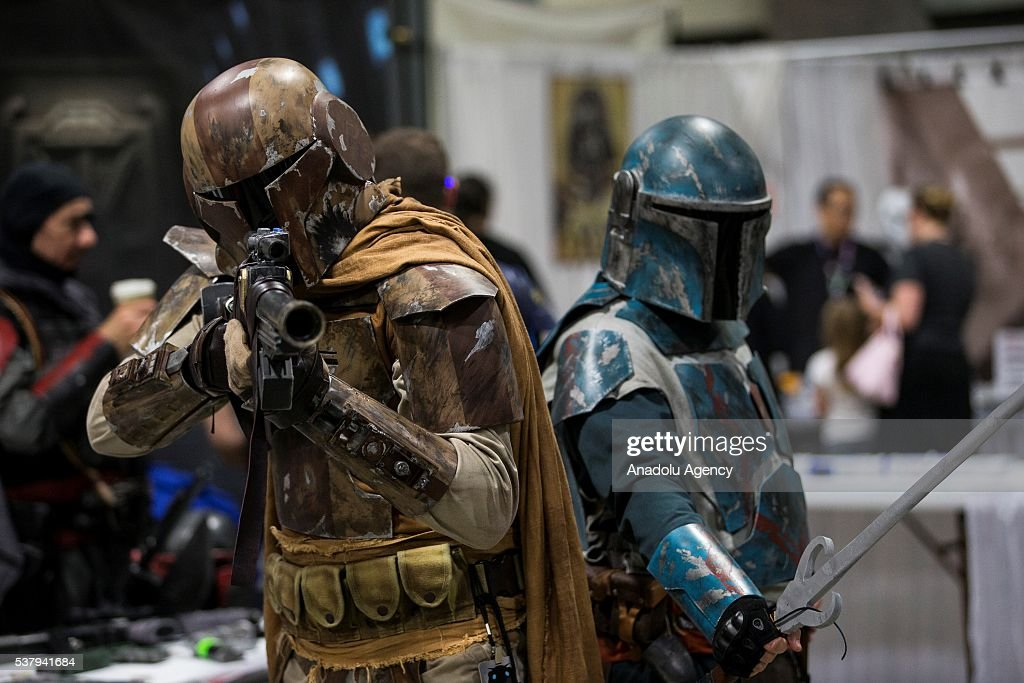 2016 Awesome Con in Washington : News Photo