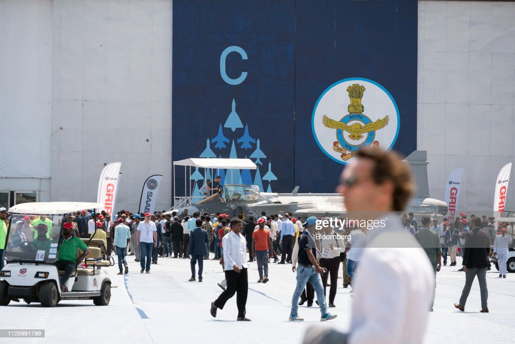 IND: First Day of The Aero India Air Show
