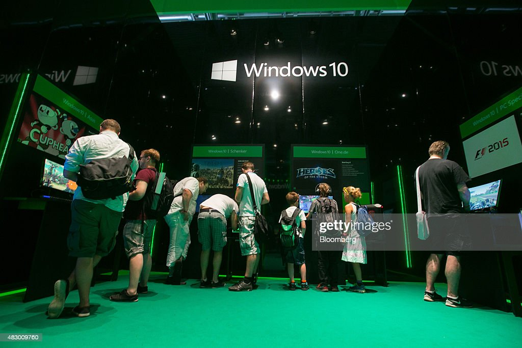 Next Generation Console Tech At Gamescom The World's Largest Video Game Fair : News Photo