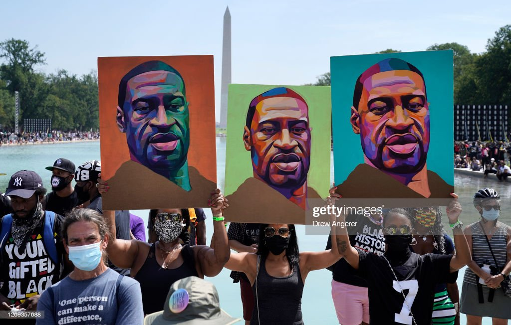March On Washington To Protest Police Brutality : News Photo