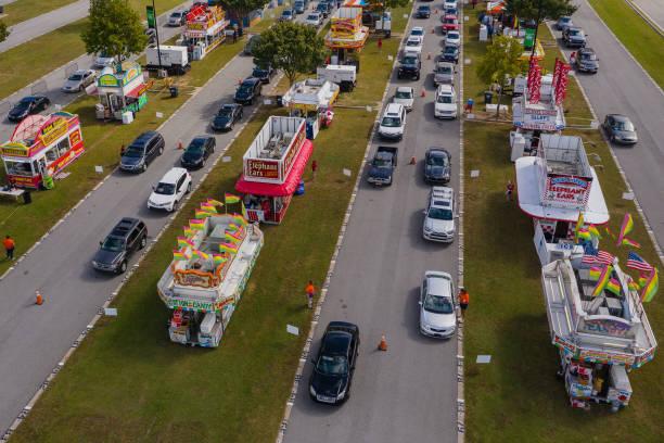 SC: Residents Attend A Drive-Thru State Fair In South Carolina