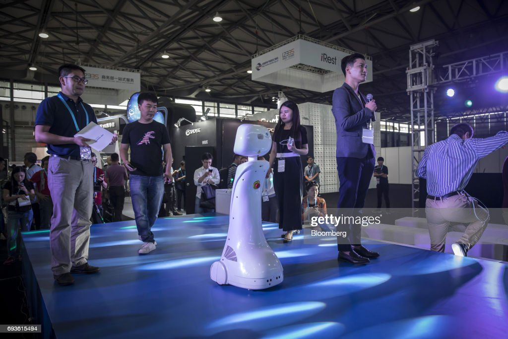 Inside The Consumer Electronics Show Asia 2017 : News Photo